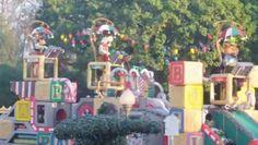 Desfile Navideño en Disneyland