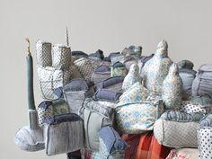 Emilie Faif. Paris New-York / sculpture textile / 2010