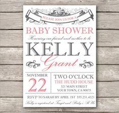 FREE Baby Shower Invitation Template - DIY Editable Template ...