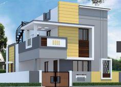 House Outer Design, House Main Gates Design, 3 Storey House Design, Single Floor House Design, House Outside Design, Home Design Floor Plans, Duplex House Design, House Front Design, Modern House Design