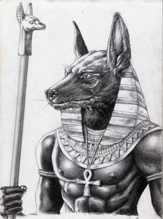 anubis artwork - Buscar con Google