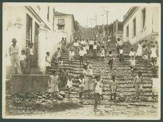 Morro de São Carlos, Estácio em 22- 01- 1933.