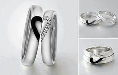 Wedding rings..kinda tacky, but kinda cute