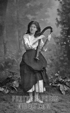 Stock Photography image of Emma Nevada , American soprano , as Mignon ...