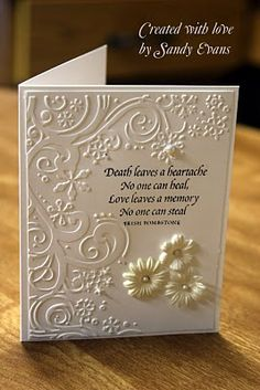 Sympathy card | We Know How To Do It