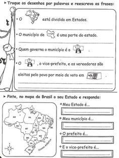 atividades sobre municipio - Pesquisa Google