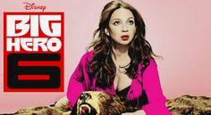 disney big hero 6 | ... to the voice cast of marvel and disney s big hero 6 comedian maya
