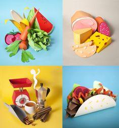 #food #art #foodies #paper arte