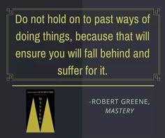 Robert Greene #Mastery