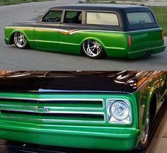 Classic Chevy Suburban. .