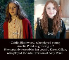 Little Amelia! Caitlin and Karen are very similar :D