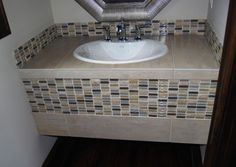 tiled bathroom cabinets - Google Search