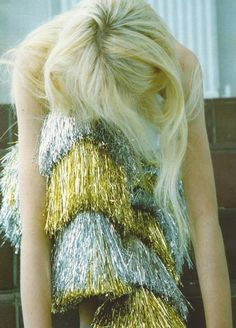 """United""  SSAW, fall/winter 2012  Caroline Schurch by Yann Faucher  Meadham Kirchhoff pants"