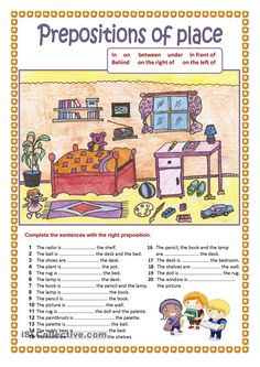 A collection of English ESL Prepositions of place worksheets for home learning, online practice, distance learning and English classes to teach about Grammar Activities, Teaching Grammar, English Activities, Grammar And Vocabulary, Grammar Lessons, English Vocabulary, Teaching English, English Prepositions, English Grammar Worksheets