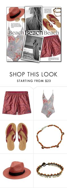 """""""#beachday"""" by gracekathryn ❤ liked on Polyvore featuring Patagonia, Zimmermann, Merrell, NOVICA, rag & bone, Ray-Ban, Summer, beach, fashionset and womensFashion"""
