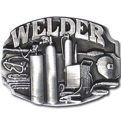 """Checkout our #LicensedGear products FREE SHIPPING + 10% OFF Coupon Code """"Official"""" Welder Tools Antiqued Belt Buckle - Officially licensed Siskiyou Originals product Fully cast, metal buckle    - Price: $20.00. Buy now at https://officiallylicensedgear.com/welder-tools-antiqued-belt-buckle-c80"""