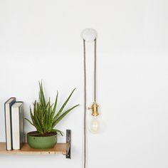 Hängelampen - Hängeleuchten-Set, Wandleuchte, Wandleuchte - ein Designerstück von MadeAndPrinted bei DaWanda