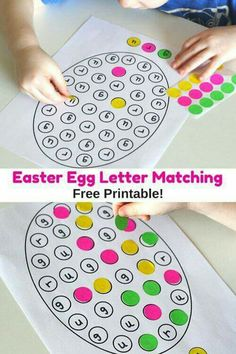 Use for letter identification or math