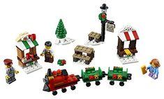 LEGO Holiday 6175453 Christmas Train Ride 40262 Multi for sale online Christmas Store, Christmas Minis, Christmas Colors, Christmas Holidays, Lego Christmas Train, Lego Santa's Workshop, Lego Track, Lego City Advent Calendar, Lego Advent