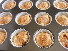 Easy Cinnamon Swirl Banana Bread Muffins - The Mommy Mouse Clubhouse Banana Recipes, Muffin Recipes, Breakfast Recipes, Banana Bread Muffins, Baked Pumpkin, Easy Snacks, Cinnamon, Sweet Tooth, Sweet Treats