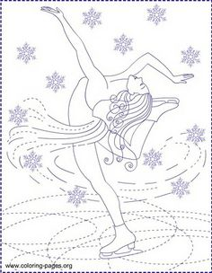Nicole's Free Coloring Pages: ICE SKATING * ICE PRINCESS * Coloring pages Bee Coloring Pages, Princess Coloring Pages, Free Printable Coloring Pages, Coloring Pages For Kids, Free Coloring, Adult Coloring, Ice Skating Party, Ice Princess, Christmas Coloring Pages