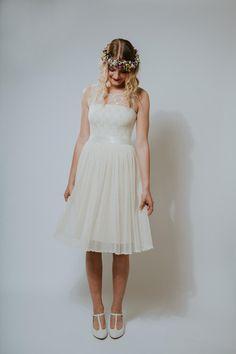 """Brautkleider - Brautkleid """"Glöckchen"""" - ein Designerstück von Ave-evA bei DaWanda"""