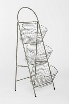 Ladder Storage Basket - great to store fruits and veggies in your kitchen or pantry.