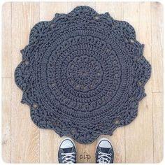 tapete de crochê crochetinpaternoster