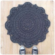 tapis au crochet crochetinpaternoster