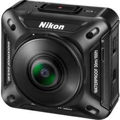 Nikon - KeyMission 360, a rugged camera capable of recording true 360-degree video in 4K UHD - spring 2016