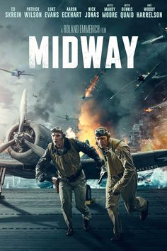 Rent Midway and other new DVD releases and Blu-ray Discs from your nearest Redbox location. Or reserve your copy of Midway online and grab it later. Hd Movies, Movies And Tv Shows, Movie Tv, Midway Movie, Luke Kleintank, Film Su, Patrick Wilson, Imperial Japanese Navy, Image Film