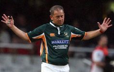 Johathan Kaplan - ok, not technically an athlete but. Without the ref, rugby isn't rugby! This man set the standard for South African refs and he will be missed! Man Set, This Man, Rugby, Athletes, Retirement, African, Sports, Jackets, Tops