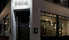 Briefed to create a brand identity and interior for Dabbous, a new restaurant situated on a corner site on Whitfield street, London, Brinkworth took. London Eats, London Food, London Restaurants, Great Restaurants, Catering Equipment, Restaurant Interior Design, Hospitality Design, Commercial Design, Restaurant Bar