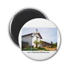 Mission San Francisco de Solano CA Fridge Magnets from the Cheshire Cat Photo Store on Zazzle!