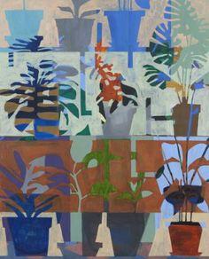 "Saatchi Art Artist Anne Torpe; Painting, ""Pastel Pots"" #art"