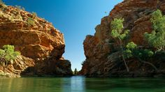Enjoy a self-drive exploring the West MacDonnell Ranges and take a dip at Ellery Creek Big Hole  West MacDonnell National Park, Alice Springs, Northern Territory, Australia