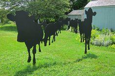 Cow sculpture, Martha's Vineyard