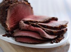 Honey and Mustard Glazed Roast Beef | Simply Beef and Lamb
