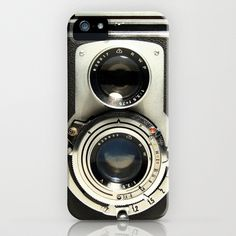 Vintage Camera iPhone Case by Ewan Arnolda