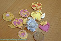 Paper cuts: Sailor Moon on Behance