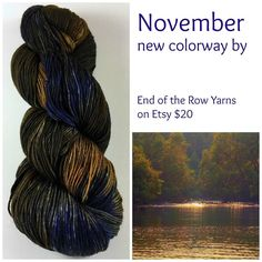November. End of the Row Yarns in Etsy! by brennee634