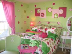 LOVE the name & poka dots - Def a must for Maddie's room