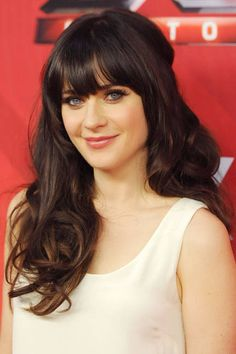 Beautiful bangs icon: Zooey Deschanel, 2011