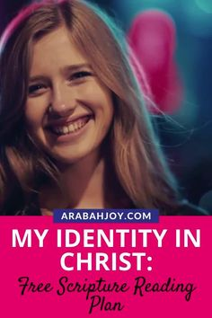 Live your identity in Christ and celebrate God's faithfulness with a free Scripture reading plan. Use this Bible study guide to set you free from strongholds and live the life God has planned for you. || Arabah Joy