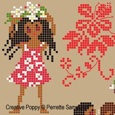 Thrilling Designing Your Own Cross Stitch Embroidery Patterns Ideas. Exhilarating Designing Your Own Cross Stitch Embroidery Patterns Ideas. Dmc Embroidery Floss, Cross Stitch Embroidery, Embroidery Patterns, Cross Stitch Charts, Cross Stitch Designs, Cross Stitch Patterns, Tahiti, Embroidery Techniques, Cross Stitching