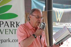 John Farrow (aka Trevor Ferguson) Prose in the Park 2016 www.proseinthepark.com Poetry, Park, Books, Libros, Parks, Book, Poetry Books, Book Illustrations, Poem