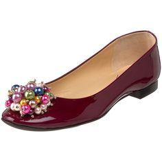 Kate Spade flat ballerina wedding shoe