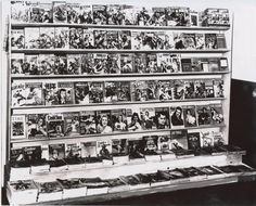 Old school comic book rack ...