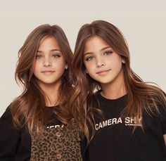 "Ava + Leah ( ""It always seems impossible until it is done. Beautiful Little Girls, Beautiful Children, Beautiful Babies, Most Beautiful, Cute Twins, Cute Baby Girl, Cute Girls, Little Girl Models, Child Models"