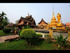 Xishuangbanna is located along the Mekong River in Yunan, China and is dotted with beautiful temples and other sites.